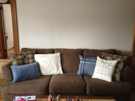 Awesome handmade canvas throw pillows inspired by Etsy