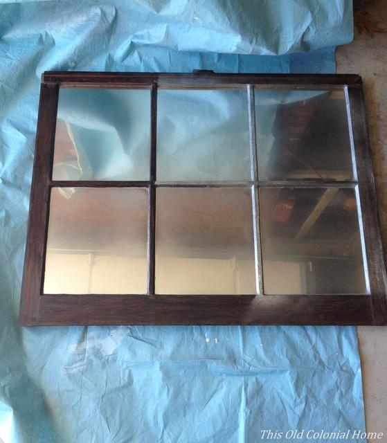 Final layers on reverse side of window