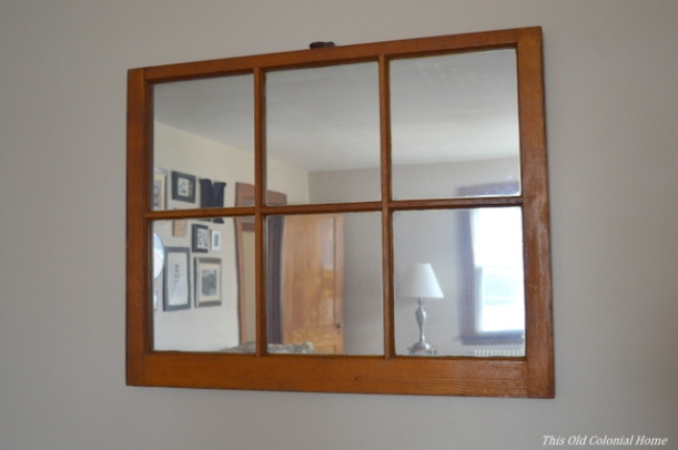 easy window mirror using mirror effect spray paint