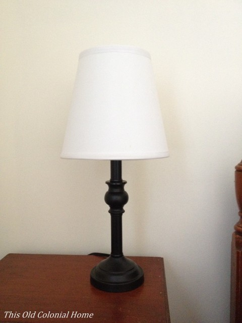 narrow table lamp