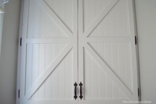 Beadboard and x-patterned doors
