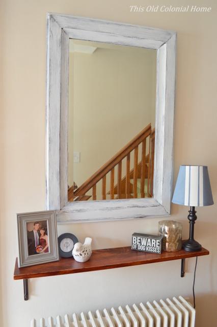 shabby-chic-shelf-and-mirror
