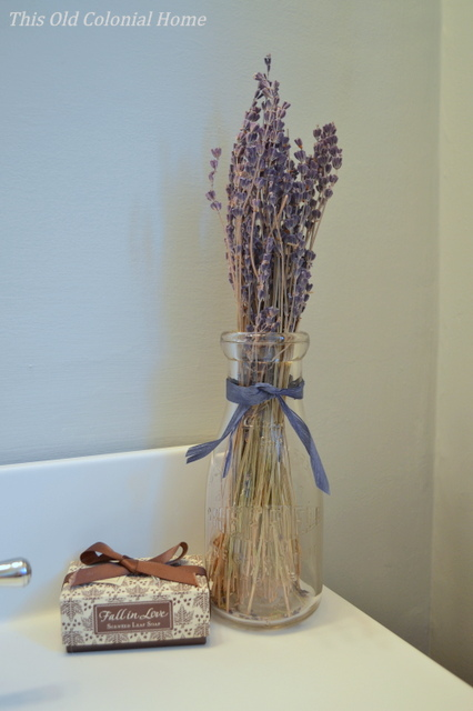 Purple fall decor