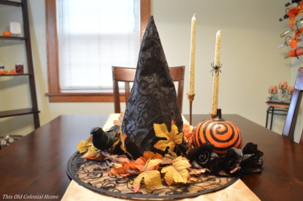 Fun DIY Halloween centerpiece