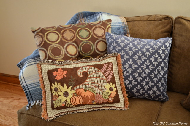 No sew placemat pillow