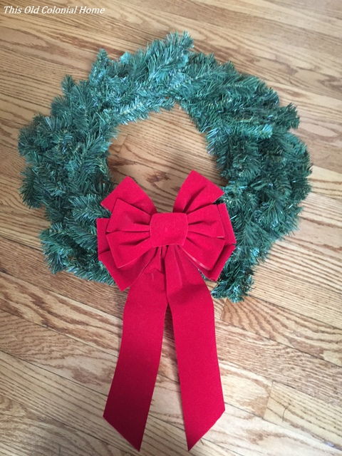 Wreath for window