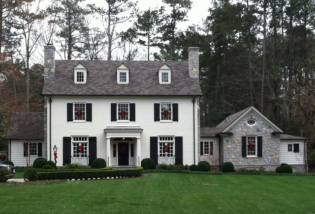 Christmas colonial inspiration