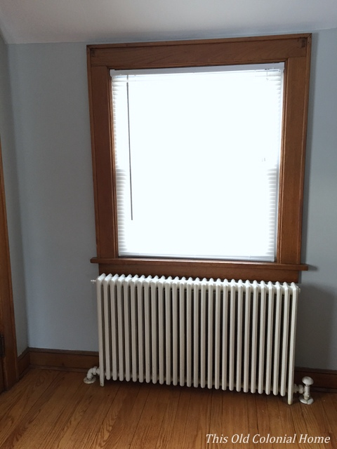 Window next to roof line