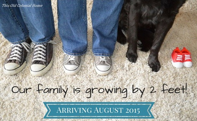 Our family is growing by 2 feet
