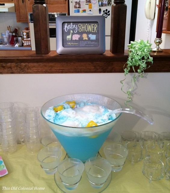 Baby shower bath punch