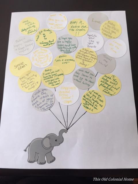 Glue Circles To Paper Nursery Balloon Decor DIY