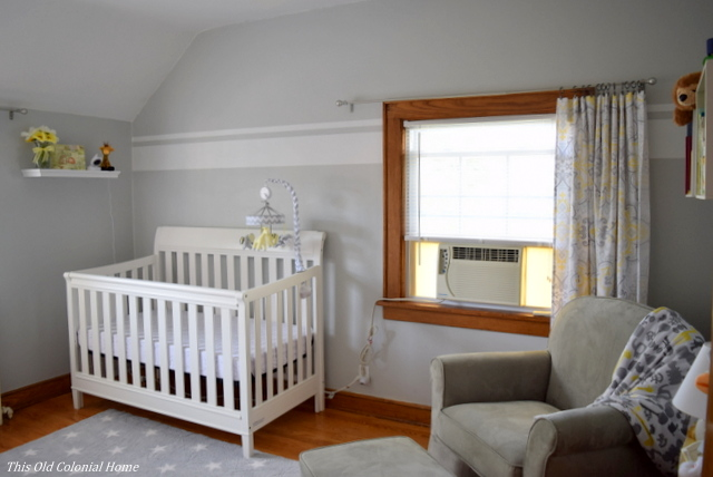 Gender neutral nursery room decor