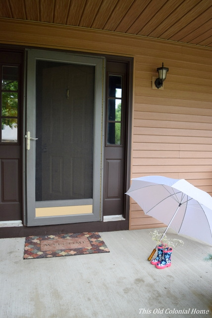 ... Baby Shower Porch Decor ...